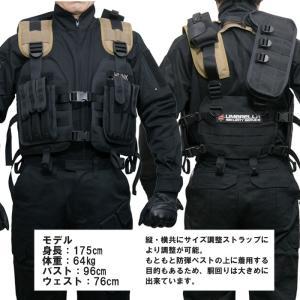 BIOHAZARD タクティカルベスト/ハンクモデル バイオハザード tactical vest hunk スターズ STARS アンブレラ Umbrella wallet 特殊部隊 Resident Evil 生化危机|level4shop|07