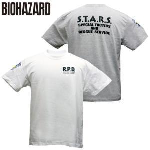 バイオハザード Tシャツ S.T.A.R.S. スターズTシャツ アンブレラ Umbrella biohazard 特殊部隊 Resident Evil レオン クリス 生化危机 level4shop