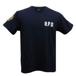 バイオハザード RE:2 Tシャツ R.P.D. BIOHAZARD S.T.A.R.S. スターズ biohazard Resident Evil レオン クレア 生化危机|level4shop|03