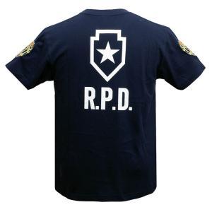 バイオハザード RE:2 Tシャツ R.P.D. BIOHAZARD S.T.A.R.S. スターズ biohazard Resident Evil レオン クレア 生化危机|level4shop|04
