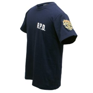 バイオハザード RE:2 Tシャツ R.P.D. BIOHAZARD S.T.A.R.S. スターズ biohazard Resident Evil レオン クレア 生化危机|level4shop|06