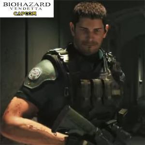 バイオハザード ヴェンデッタ クリスコンバットTシャツ biohazard vendetta  Resident Evil クリス STARS アンブレラ Umbrella 生化危机|level4shop|06