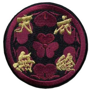 正規品 戦国BASARA 長曾我部 元親パッチ ベルクロ付き 将軍 ちょうそかべ もとちか 天衣無経 level4shop