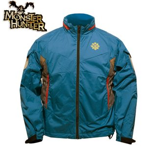 モンスターハンター ジンオウガ ソフトシェル ジャケット Monster Hunter モンハン メンズ カジュアル 透湿 防水 防寒 ジンオウガ level4shop