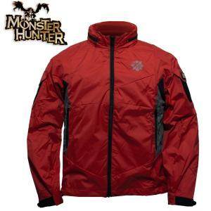 モンスターハンター 火竜 リオレウス ソフトシェル ジャケット Monster Hunter ハンティング モンハン カジュアル アウトドア 透湿 防水 防寒 level4shop