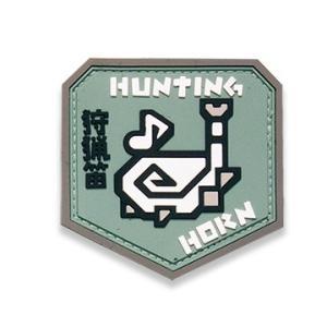 ★正規品★ モンスターハンター 狩猟笛 PVCパッチ ベルクロ付き
