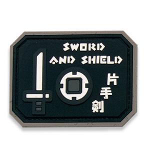 ★正規品★ モンスターハンター 片手剣PVCパッチ ベルクロ付き level4shop