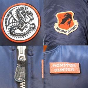 モンスターハンター MA-1 for PATCH MONSTER HUNTER フライト ジャケット 防寒 ミリタリー|level4shop|04