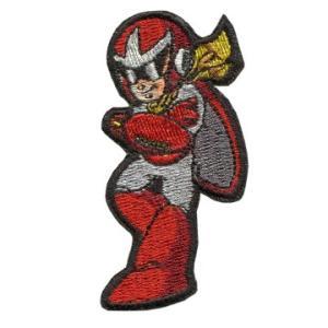 ロックマン 刺繍PATCH / ブルース ベルクロ付き|level4shop