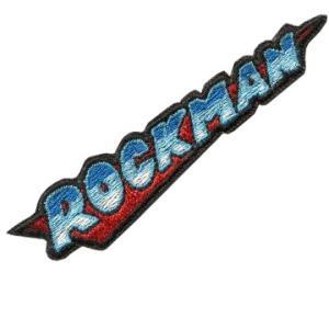 ロックマン 刺繍PATCH / メインロゴ ベルクロ付き|level4shop