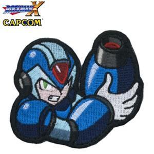 正規品 刺繍PATCH ロックマンX ベルクロ付き ROCKMAN Mega Man 洛克人大戰 ロックマン X DUSH エグゼ ロール ブルース ゼロ フォルテ|level4shop
