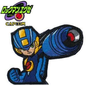 正規品 刺繍PATCH ロックマン エグゼ  ベルクロ付き ROCKMAN Mega Man 洛克人大戰 ロックマン X DUSH エグゼ ロール ブルース ゼロ|level4shop