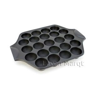 たこ焼きプレート(鉄製 ) 23穴(IH対応) ふっくら美味しいたこ焼きが電磁調理器でも。 厚みのあ...