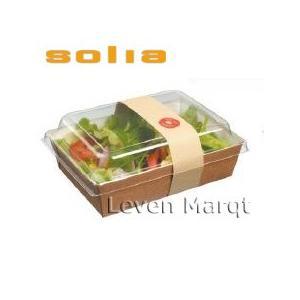 ソリア solia ランチボックス 1L 50個入り テイクアウトやランチボックスに便利なボックスで...