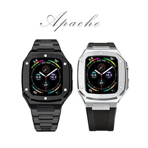 applewatch アップルウォッチ 44mm バンド ステンレス ベルト applewatch4 applewatch5 Series 4 5 6 SE メンズ|lfs