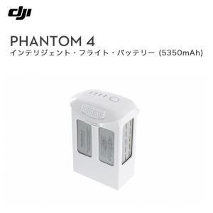 PHANTOM 4 インテリジェントフライトバッテリー (容量5350mAh) バッテリー アクセサリー 周辺機器 ファントム4 ドローン DJI P4 4k対応 スマホ操作 ビデオ 空撮