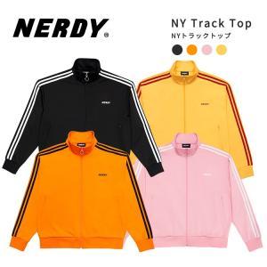 NERDY ノルディ NY Track Top トラック トップ 韓国 ZICO 原宿 メンズ レディース ユニセックス ジャージ nerdy 正規品|lfs