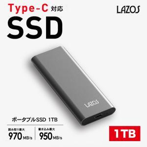 SSD 1TB Type-C対応 ポータブルSSD インストール不要 読取り 970MB/s 書込み 950MB/s Windows10,8.1,8,MAC OS,Android USB3.0 PS4、PS4 Pro メーカー1年保証 lfs