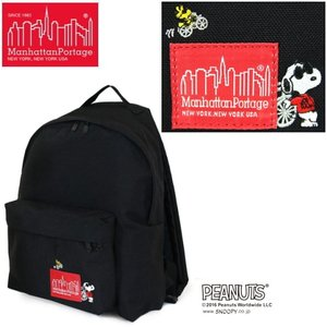 マンハッタンポーテージ バックパック 限定 Manhattan Portage × PEANUTS Big Apple Backpack 1210SNPY16B|lib-ys