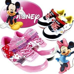 ディズニー スニーカー ミッキー&ミニー Disney DN C1128|lib-ys
