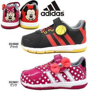 アディダス adidas インファント Disney M&M CF I ディズニー ミニー・ミッキー かかとに付いた大きな顔が特徴|lib-ys