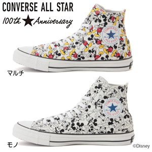 CONVERSE ALL STAR 100 MICKEY MOUSE HD OX コンバース オールスター 100 ミッキーマウス HD OX|lib-ys