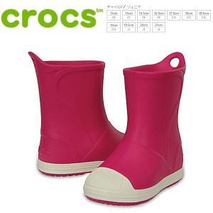 クロックス ブーツ キッズ crocs bump it boot kids [203515-6MI] ピンク レインブーツ【PIPI-33trhh】●|lib-ys