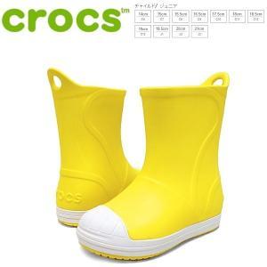 クロックス ブーツ キッズ crocs bump it boot kids [203515-73k] イエロー レインブーツ【PIPI-33trhh】●|lib-ys