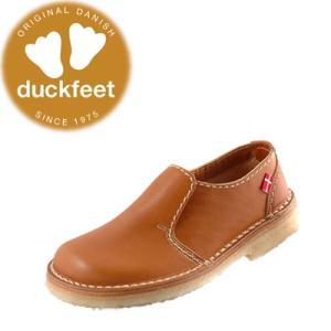 ダックフィート duckfeet カジュアルシューズ 1600 クレープソール・スリッポン レディース メンズ|lib-ys
