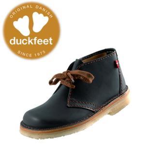 ダックフィート ブーツ duckfeet 326 クレープソール・デザートブーツ 黒 レディース メンズ|lib-ys