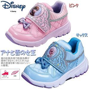 アナと雪の女王 ディズニー Disney DN C1140 女の子に大人気 キャラクターシューズ キッズ スニーカー|lib-ys
