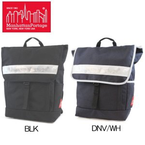 マンハッタン ポーテージ バックパック Manhattan Portage Vinyl Reflector Washington SQ Backpack MP1220VR|lib-ys