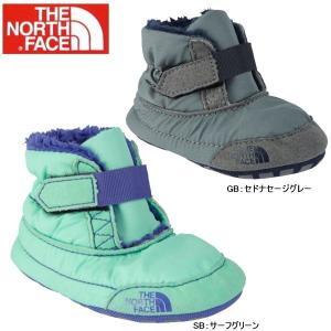 ザ・ノースフェイス B&G インファントアッシャーブーティー THE NORTH FACE B&G Infant Asher Bootie NFJ01580 ベビーブーツ|lib-ys