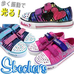 スケッチャーズ 光る靴 skechers 10203N lib-ys