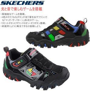 スケッチャーズ キッズ スニーカー ライト&サウンド ゲーム搭載 スニーカー [91535L] 光と音とゲームが楽しめる skechers|lib-ys