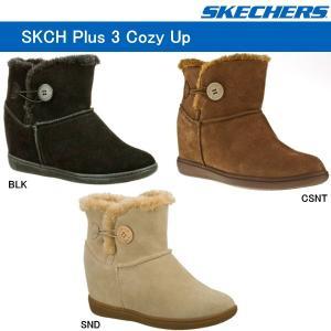 スケッチャーズ ブーツ レディース SKECHERS Plus 3-Cozy Up 48106|lib-ys