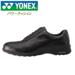 ヨネックス パワークッション レディース ウォーキングシューズ ブラック YONEX SHWMC30|lib-ys