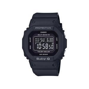 CASIO BABY-G カシオ ベビーG 腕時計 / ベビージー ベイビージー 電波 ソーラー リストウォッチ レディース 防水 国内正規品 / bk