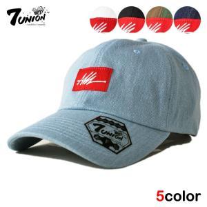 7UNION セブンユニオン ストラップバックキャップ 帽子...