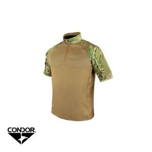 CONDOR COMBAT SHIRT SHORT SLEEVE 101144-008 (MULTICAM)|liberator