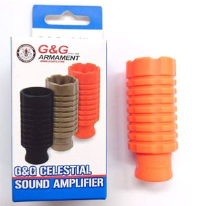 G&G G-02-105-1 Celestial sound Plastic Amplifier -Orange (14mmCCW)|liberator