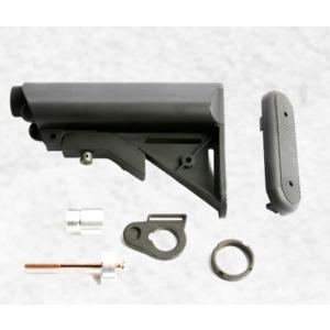 G&G G-05-035 Crane Stock For GR16-Black- Desert Tan-Pink (QD Battery Type)|liberator