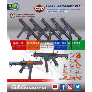 新発売!! G&G G-10-124    ARP9 Super Ranger Dress-up Kit-Fire|liberator