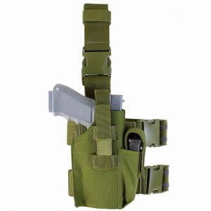 CONDOR TACTICAL LEG HOLSTER TLH-001 002 498 (OLIVE DRAB) (BLACK) (COYOTE BROWN) liberator