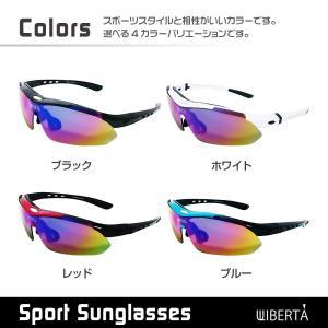 スポーツサングラス 偏光サングラス ゴルフ 釣...の詳細画像1