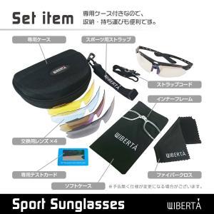 スポーツサングラス 偏光サングラス ゴルフ 釣...の詳細画像3
