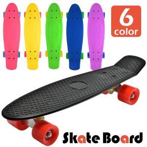 スケートボード スケボー ミニクルーザー ビニールクルーザー コンプリート 6カラー