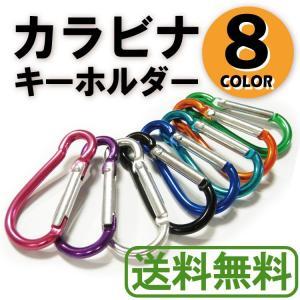 カラビナ キーホルダー 鍵 おしゃれ フック 収納袋 カラフル 8カラー 8個セット|liberta-shop