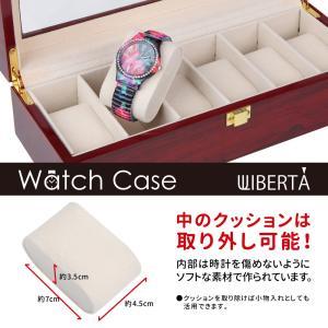 腕時計ケース ウォッチケース 収納ボックス 6...の詳細画像3