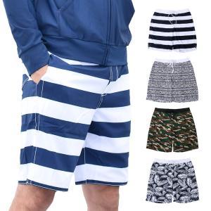 メンズ 水着 サーフパンツ 海パン 海水パンツ サーフショーツ メッシュ裏地 水陸両用|liberta-shop